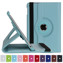 11 Colors Ultra Slim Smart Tripled Folded Case Handheld PU Flip Cover for iPad MINI 4 with Auto Wake Up Function
