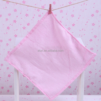 bamboo cotton small square towel, baby washcloth, tea towel