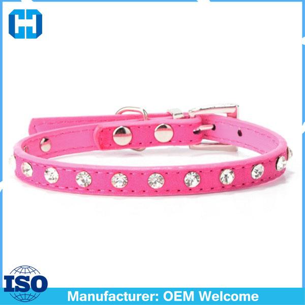 Puppy-Dogs-Collar-Bell-Rhinestone-PU-Leather-Cat-Supply-Collars-Pet-Neck-Strap (3)