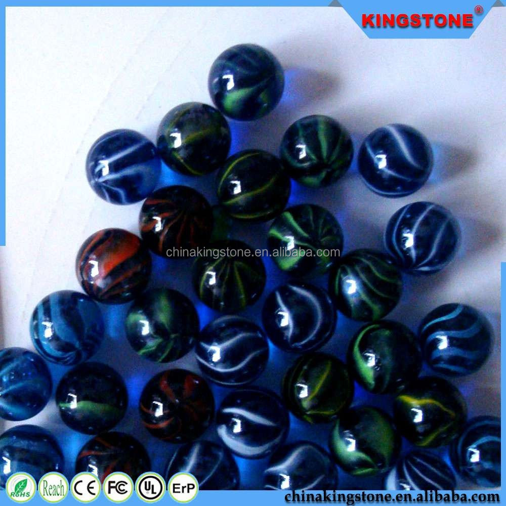 Volume manufacture clear crystal glass balls world globe