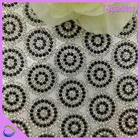 cheap price 2 mm ss5 rhinestone mesh roll iron-on rhinestone mesh