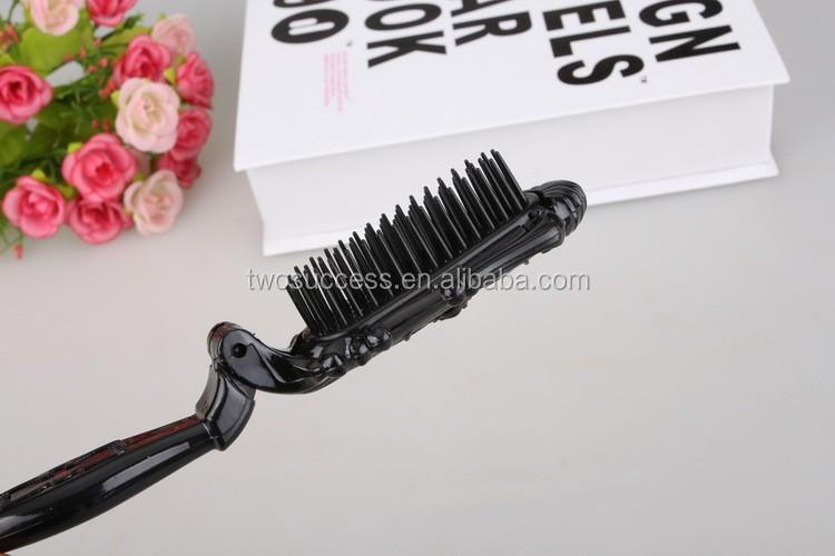 Foldable Plastic Hair Comb (10)