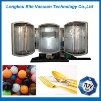 gold pen/disposable plastic silver spoon/fork ion plating machine/ equipment/plant/
