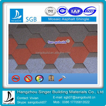 Cheap Mosaic Fiberglass Asphalt Shingles Roofing Tiles Manufacturer