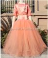 2015 fée princesse manches blanc Tulle robe de bal robe de demoiselle Patterns
