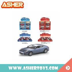 children favorite metal real car models diecast model car with pull back