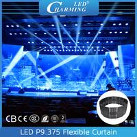 Easy Design High Resolution LED Pixel Curtain Mesh Light for rental stage decor