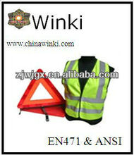 Car Emergency Safety Warning Triangle Kits