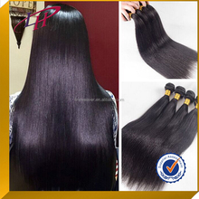 Wholesale top quality hair extension ,silky straight natural color 100% barzilian virgin human hair weave