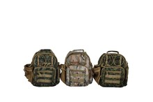 Fashion camouflage pattern messenger bag for camping/ hiking