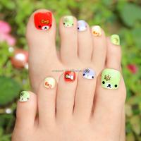 PA002 Toenails sticker 3d nail sticker golden korea toennails sticker toenails polish sticker