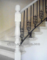 2013&2014 Most popular railings concrete stairs of Wrought iron