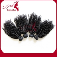 Carina Hair Products Kinky Curl Factory Price Natural Virgin Chinese Inky Virgin Thailand Hair Weave