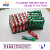 Plastic Material and Cigarette Usage disposable lighter