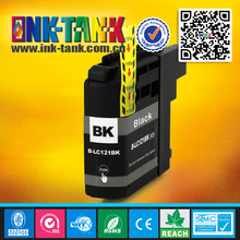 LC121 ink cartridge,premium compatible ink tank pigment ink for brother printer