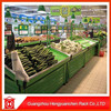 large capacity fruit vegetable display rack/vegetable and fruit storage