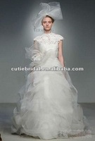 High Neck Wedding ball gown