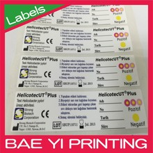 UL certified manufacturer waterproof scratch Full color advertising product label