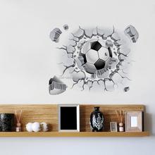 football sport decoration private sticker