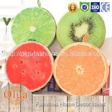 fashionable fruit sofa seat cushion covers