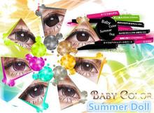 make up use big eyes natural color lenses,summer dolle color contact lens