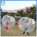 súper clara bola bola de parachoques rebote para adultos,hinchables bolas para la venta