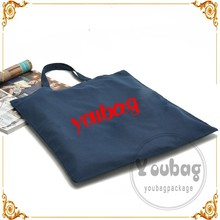 customized eco cotton canvas bottle bag