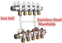 stainless steel manifolds for underfloor heating
