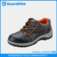 GuardRite BRAND Low Price And High Quality Footwear Steel Toe Safety Shoes / PU Steel Toe Cap For Safety Shoes