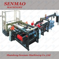 plywood saw cutting machine/ woodworking machinery/ plywood edge trimming saw