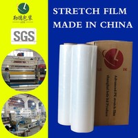Specializing in the production of LLDPE Stretch Film/Factory directly delivery/transparent plastic film