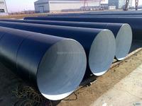 Large Diameter 3PE Coated SSAW Steel Pipe/ Spiral Welded Steel Pipe