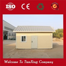 Promotion Price!!! sandwich panel 20ft prebuilt luxury luxury design light steel prefab house villa