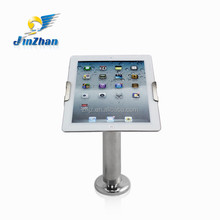 wall mounted display holder with lock,die cast aluminium tablet stand,tablet kiosk enclosure