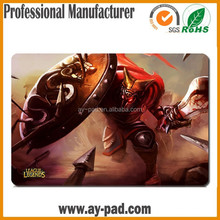 AY Durable Custom Annie Game LOL League of Legends Polyester Transfer Printing MTG Play Mat Game Playmat