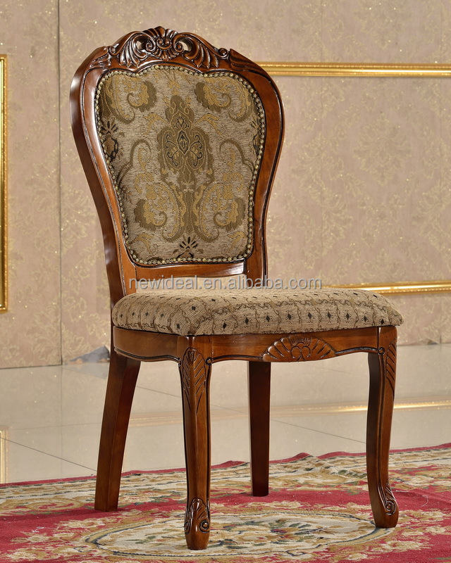 solid wood furniture wooden chair hand carved wooden dining chair