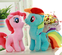 my little pony plush toys , toy pony for sale , 2015 hot sale horse my little pony soft toy