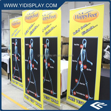 Aluminum alloy Material and Promotion & Advertising & Tradeshow Usage double sided roll up banner stand