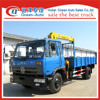 DFAC Lifting Hydraulic Moblie 5-ton truck-mounted crane