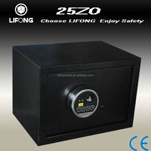 Biometric caja fuerte de sobreponer electronica