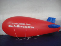 CILE 2015 hot selling pvc inflatable airship for advertising