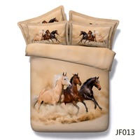 Bedding set Majestic Horses running free HD 3d bed duvets sets