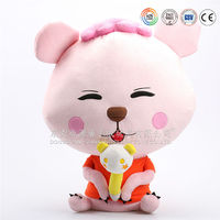 Top Quality stuffed toy make your own plush toy