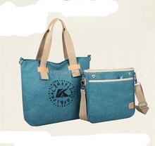 Latest design ladies canvas handbag/shoulder bag/messenger bag