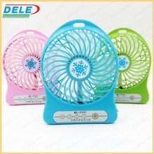 portable mini usb stand fan for outdoor activities and camping