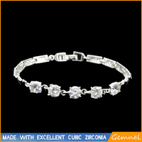 silver costume jewelry imported bracelets china