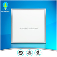 Super bright CRI80 40w 50w dimmable 600x600 led ceiling panel lighting dlc ul listed