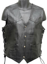 Leather Racing Vest/Leather Vest/Motorcycle Vest/mens leather hunting vest/leather fishing vest