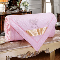 Handmade silk quilt with Chinese characteristics, natural mulberry silk filled for summer use (Filler 1 kg)