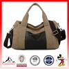 Mens Vintage Canvas Leather Travel Bag Tote Handbag Travel Crossbody Gym Bag (ESX-LB115)